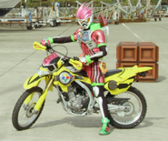Ex-Aid Riding the Bike Gamer