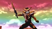 Kamen Rider Gaoh intro in Battride War Genesis