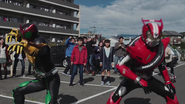 OOO & Drive in Heisei Generations Forever