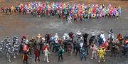 All Kamen Riders and All Super Sentai