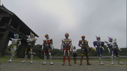 Den-O all forms
