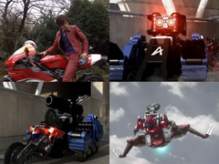 Accel motorcicle