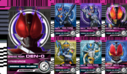 All Den-O Rider Cards
