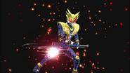 Kamen Rider Meteor Storm in Battride War Genesis