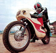 Rider 2 on Rider 1 Cyclone