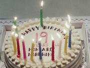 Kohtaro's birthday cake
