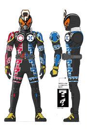 Kamen rider Quiz concept art 1