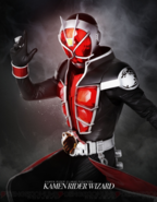 Kamen Rider Climax Fighters Wizard Poster
