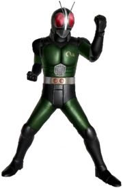 Kamen Rider Black RX in Battride War Genesis