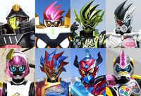 All Ex-Aid Riders