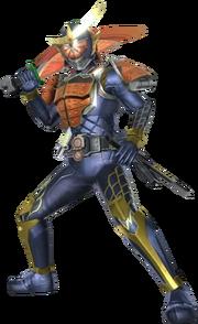 Kamen Rider Gaim in Battride War Genesis