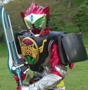 Baron OOO Arms wielding Medajalibur