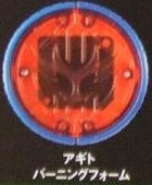 Agito Burning Form Medal