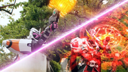 Fourze Wizard shooting finsiher prelude