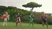 Sengoku Movie Battle - Rider Arms