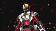 Kamen Rider Faiz Blaster Form in Battride War Genesis
