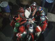 Ten Riders and Kotaro