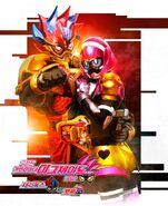 Kamen Rider Para-DX with Poppy Korean Poster
