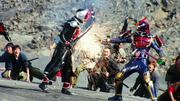 Bujin Wizard is killed by Bujin Gaim