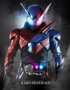 Kamen Rider Climax Fighters Build Poster