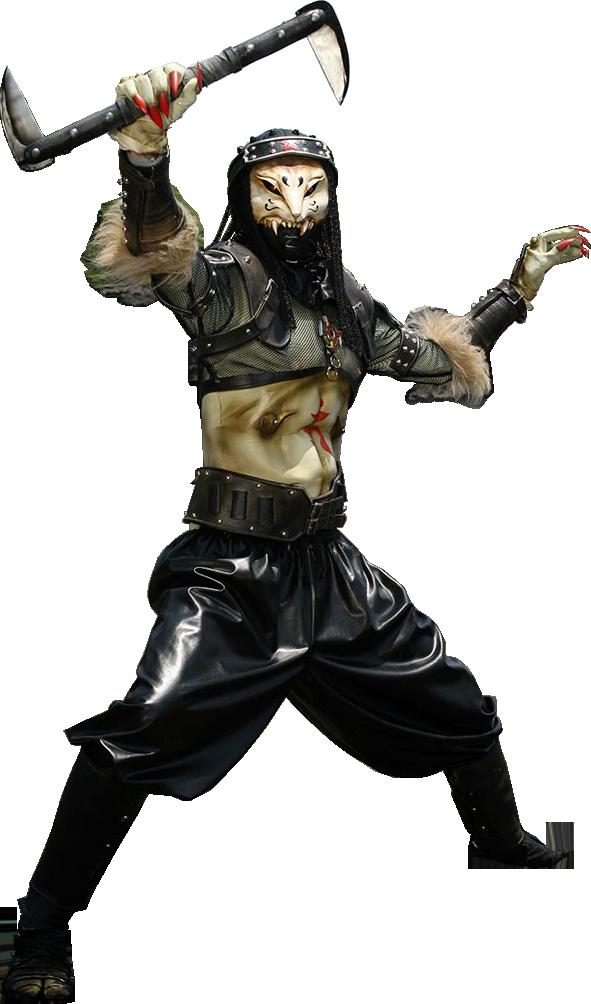 魔化魍忍群(白狐)