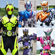 5 Main Reiwa Riders