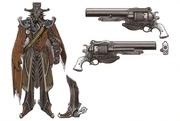 Gunman Roidmude Early Design