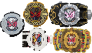 All Zi-O Ridewatches