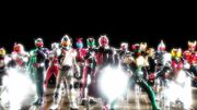 Wizard and the other Heisei Riders