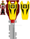 Trial neo kamen rider baron ranger key by zeltrax987-d6tylut