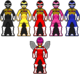 Megarangers mega tector red battlized ranger by mormon toa-d7tecar