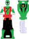Hyper shinken green ranger key by signaturefox2013-d8g1vr9