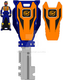 Trial neo kamen rider gaim ranger key by zeltrax987-d6pd742