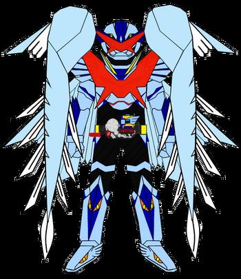 Kamen Rider G7 Icarus XYZ Archangel Armor (full wings)