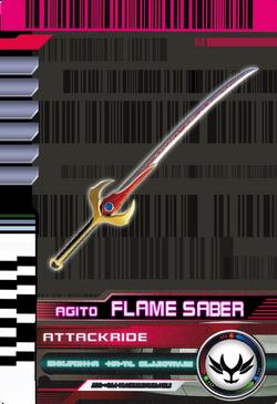 AttackRide Flame Saber