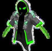 Ganba Parka Ghost