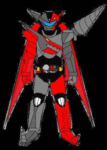 Kamen Rider G7 Icarus XYZ PteraDrill Armor