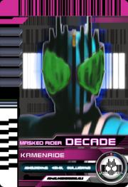 Cyan Decade Rider Card