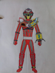 Kamen Rider Raighan (Barricade Moonbeam)