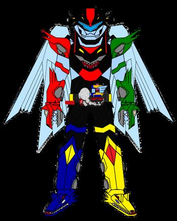 Kamen Rider G7 Icarus XYZ Archangel Cerberus Winged