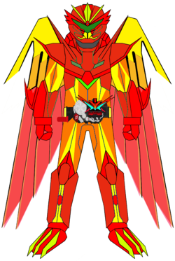 Kamen Rider G7 Icarus XYZ Jet Phoenix Armor