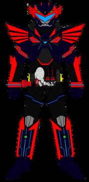 Kamen Rider G7 Icarus Strike Armor ζ