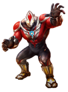 Ultraman Orb Power Strong Render