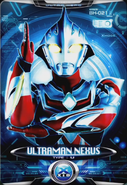Ultraman X Ultraman Nexus Card 1