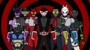 KR Persona - Main Riders