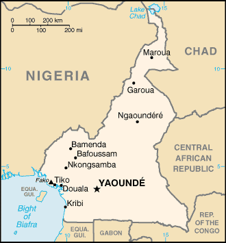 Cameroon-CIA WFB Map-1-