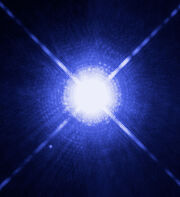 Sirius A and B Hubble photo