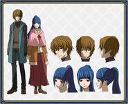Youki & Anna design anime