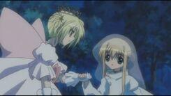 Kazune and karin switched