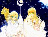 Kazune and Karin dark night